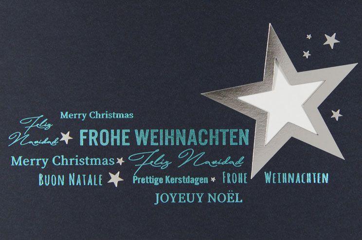 Weihnachtskarte - FW 18008