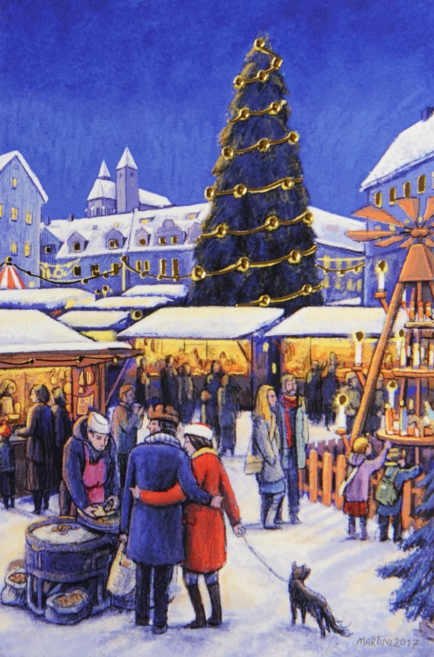 Weihnachtskarte - FW 17936