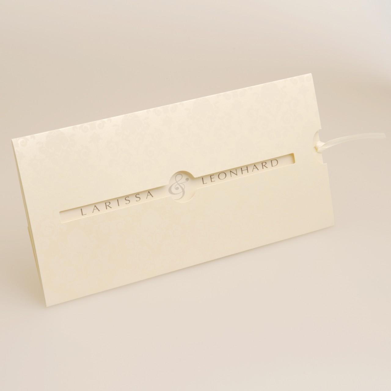 Einladungskarte - H 1830