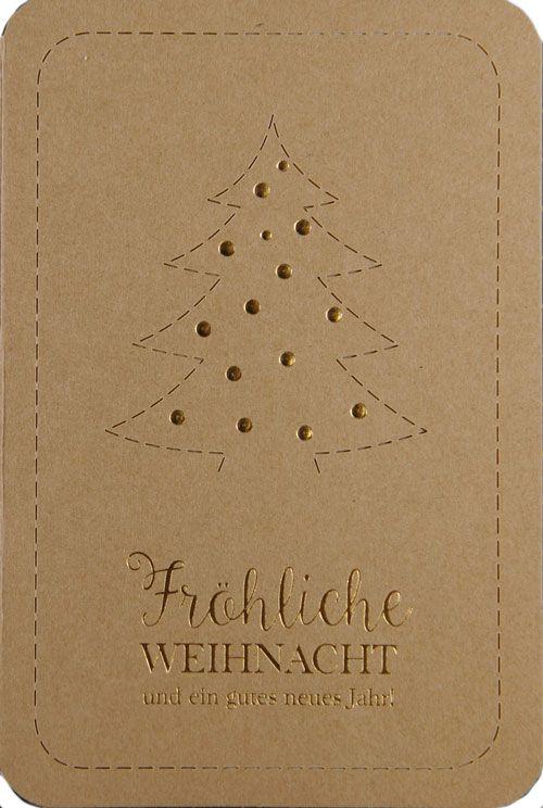 Weihnachtskarte - FW 18042