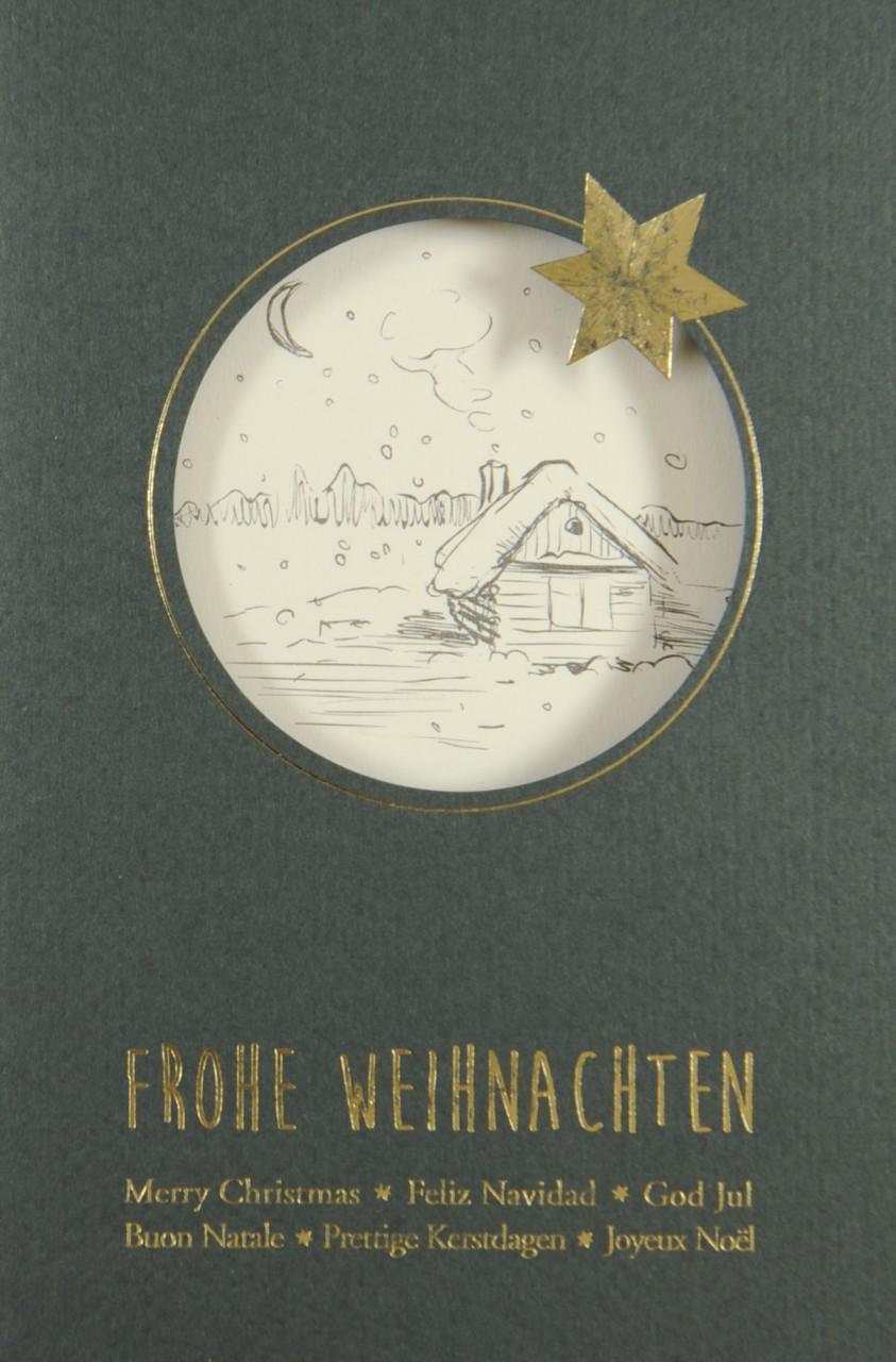 Weihnachtskarte - FW 17934