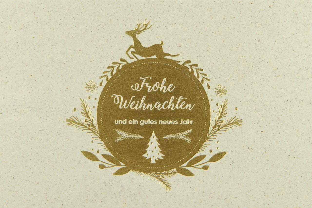 Weihnachtskarte - FW 18143