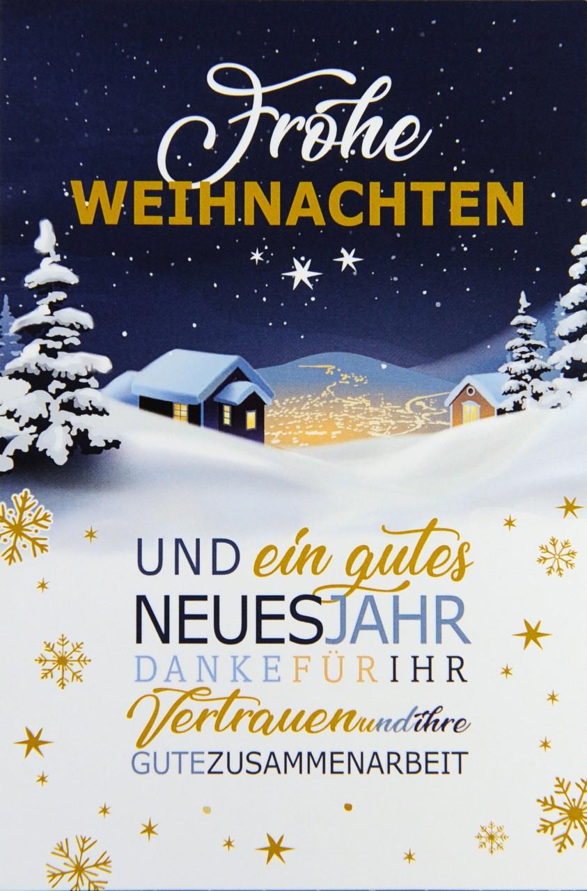Weihnachtskarte - FW 17979