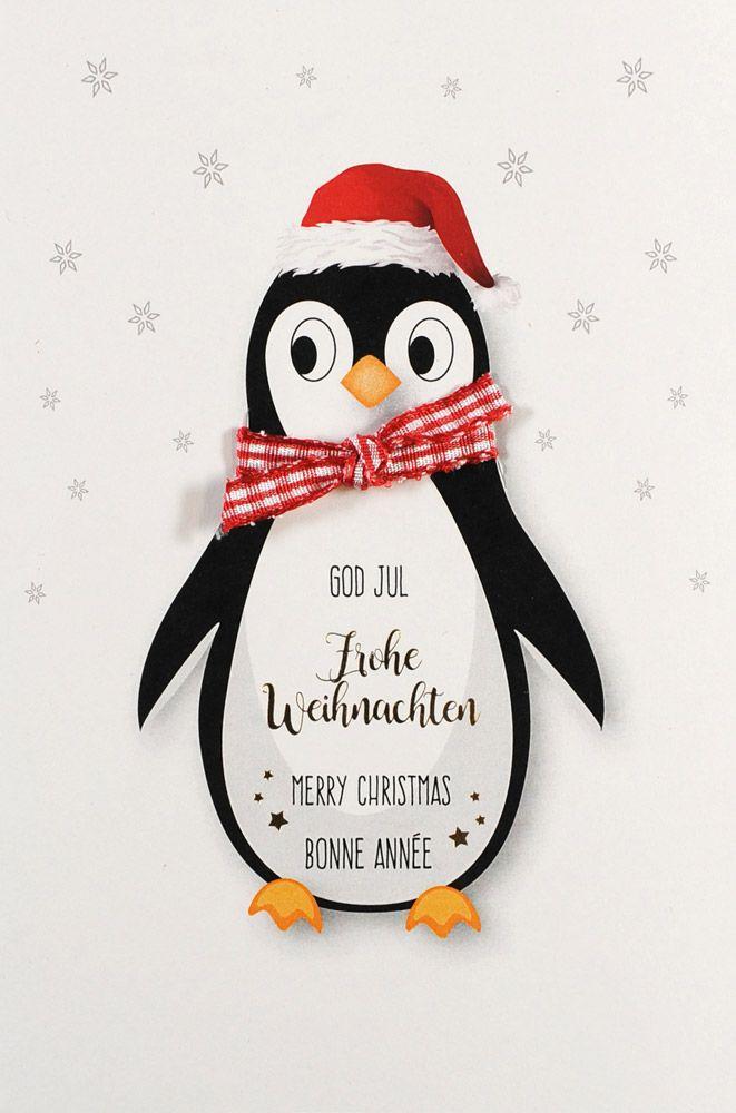 Weihnachtskarte - FW 18072