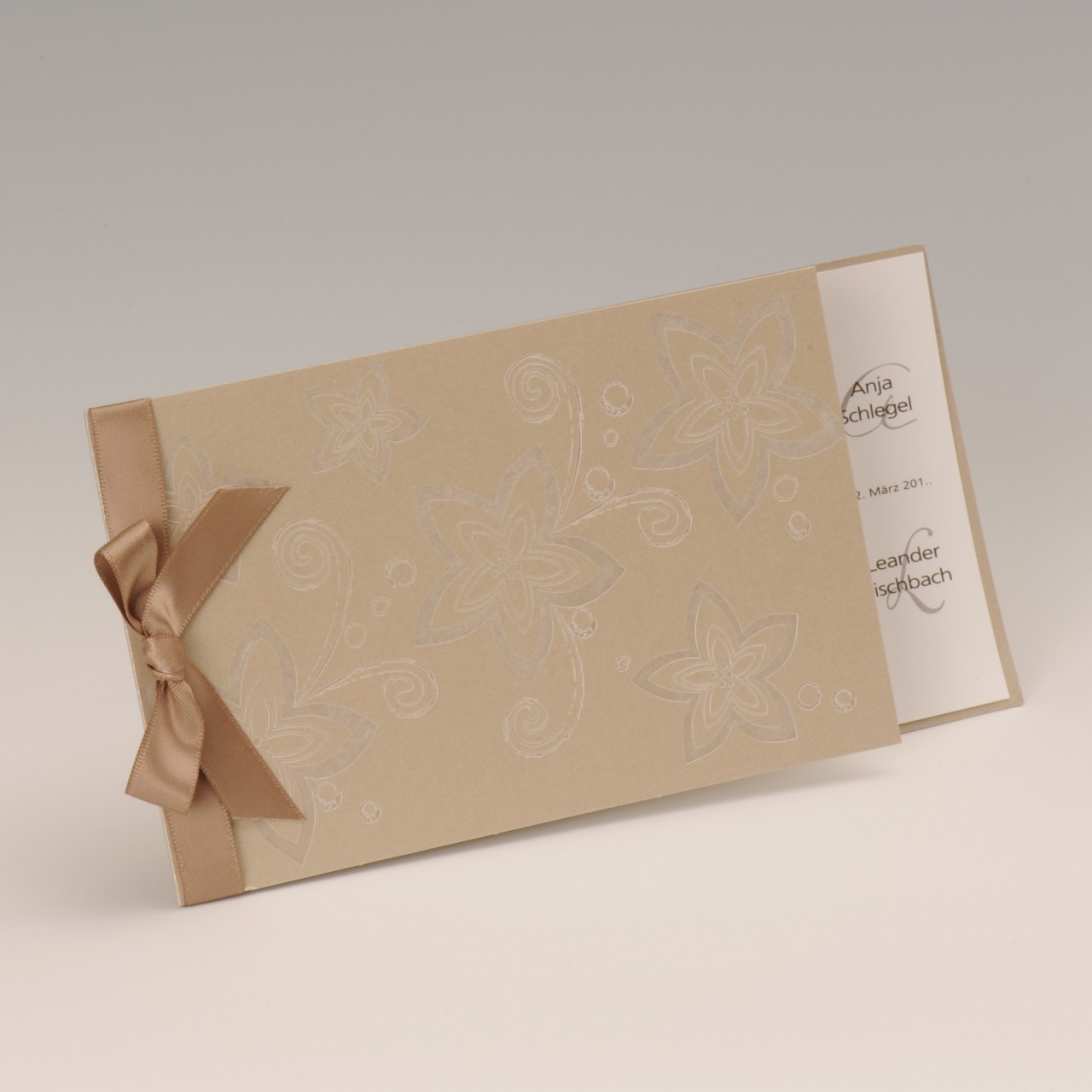 Einladungskarte - H 1908
