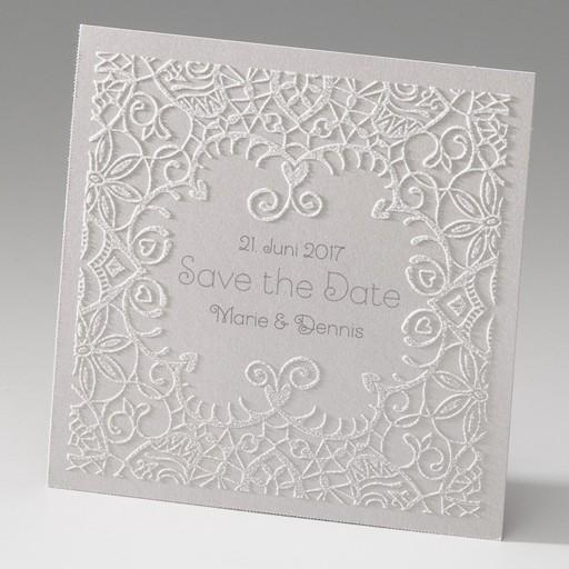 """Save the Date""-Karte (4 Stück) - EX 725503"