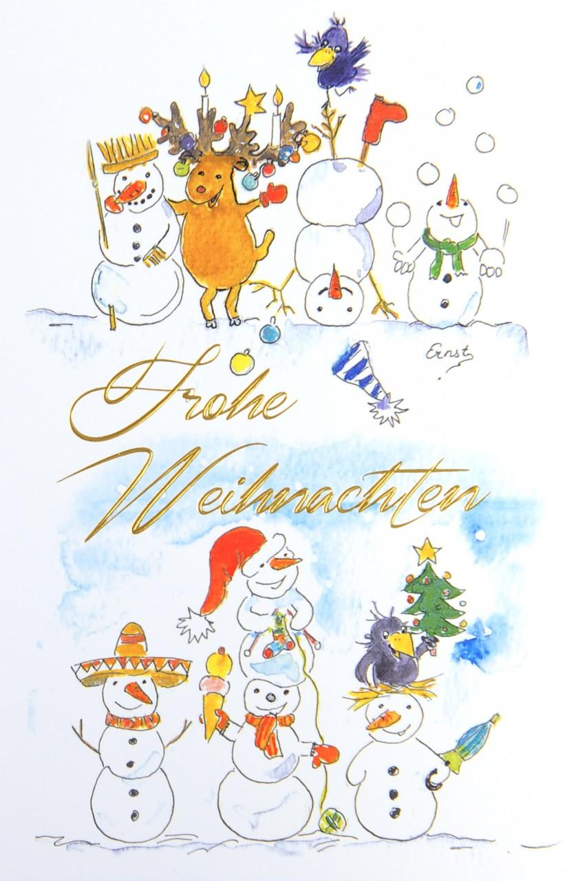 Weihnachtskarte - FW 17948