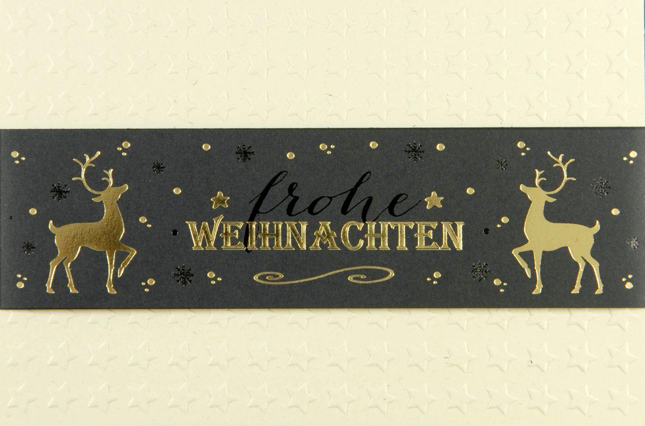 Weihnachtskarte - FW 18169