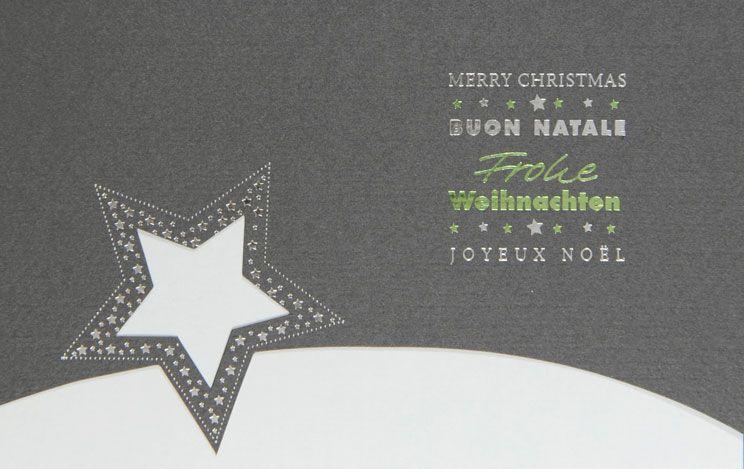 Weihnachtskarte - FW 18045