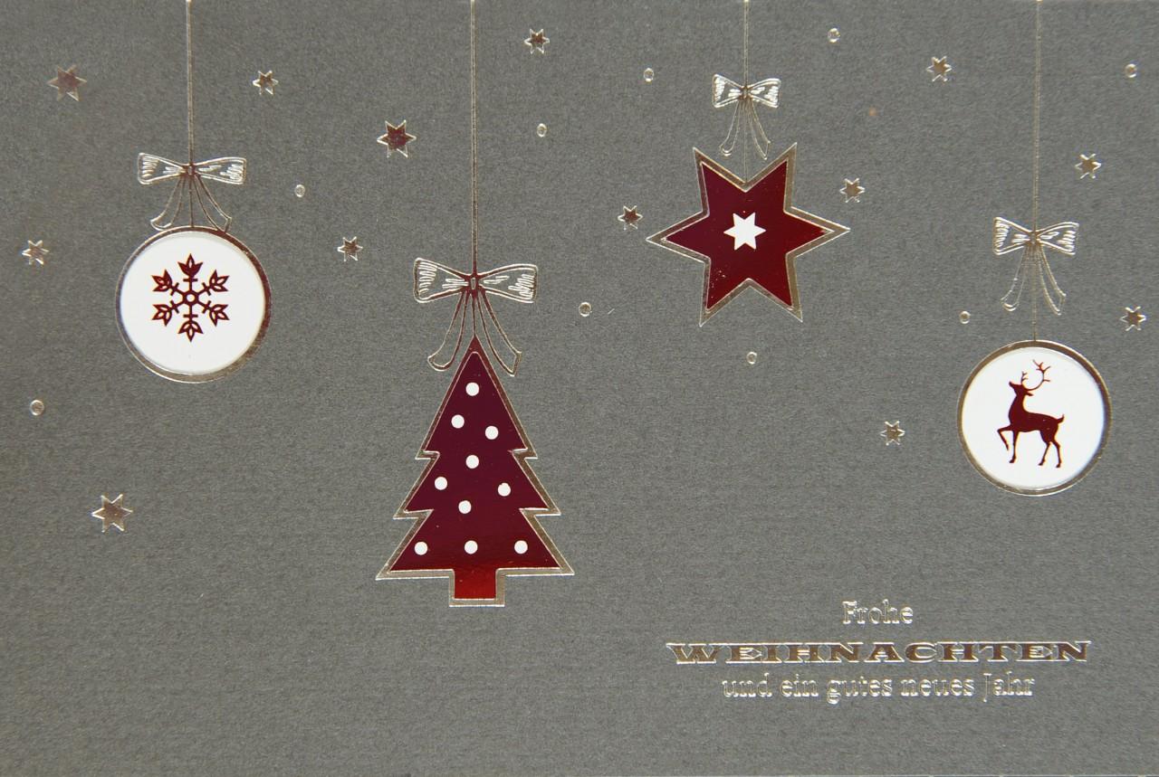 Weihnachtskarte - FW 17974