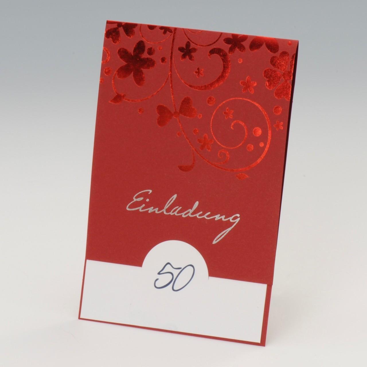 Einladungskarte - A 2112