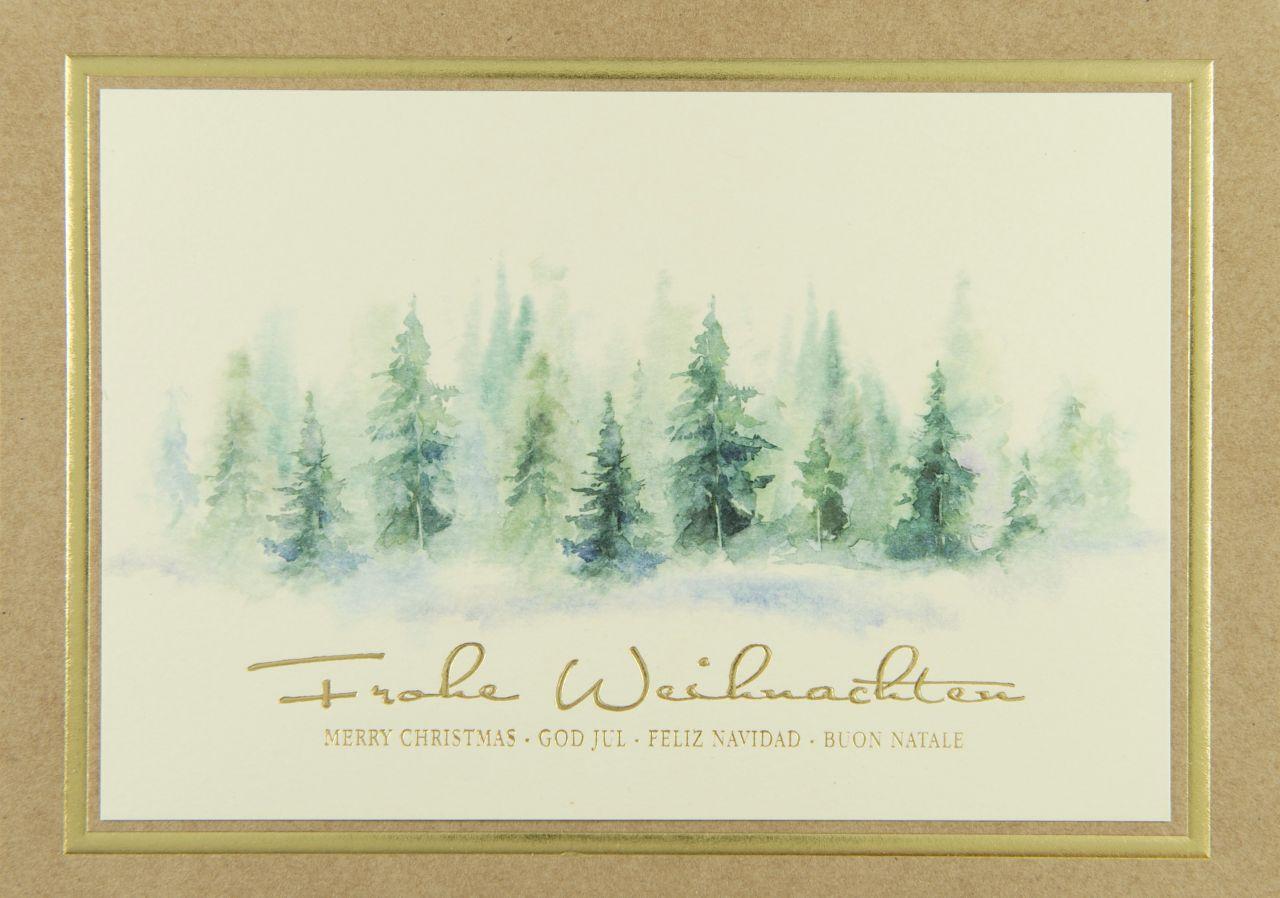 Weihnachtskarte - FW 18187