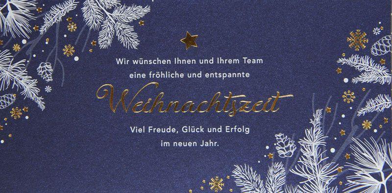 Weihnachtskarte - FW 18010