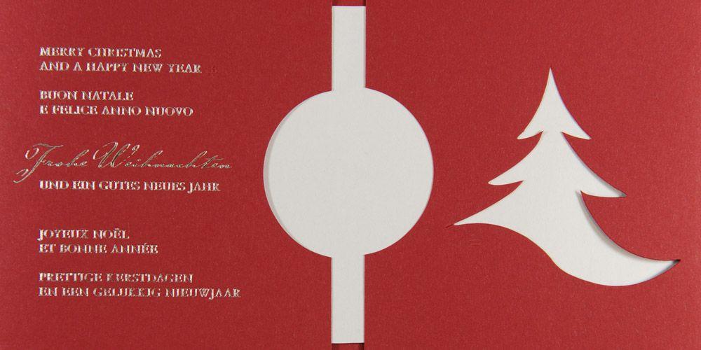 Weihnachtskarte - FW 18116