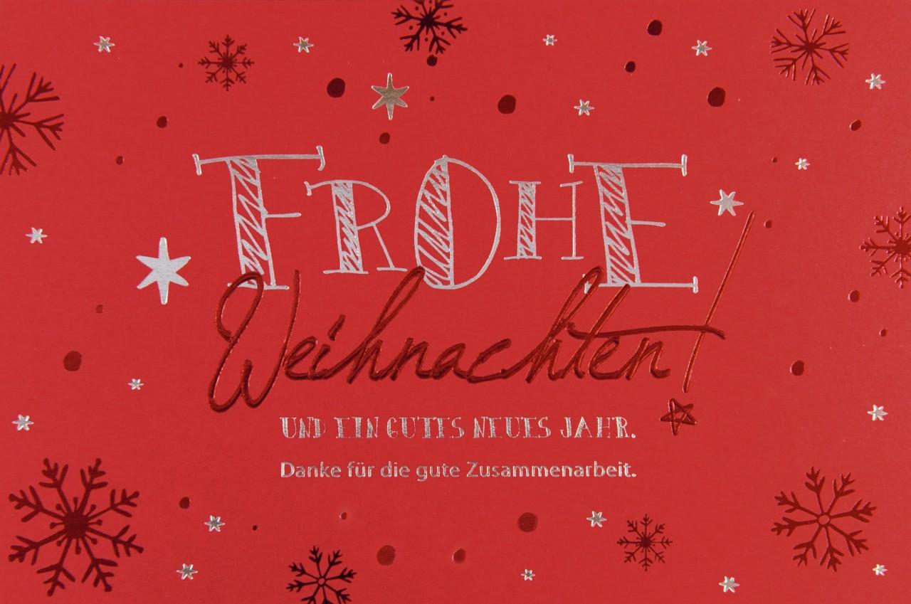 Weihnachtskarte - FW 17968