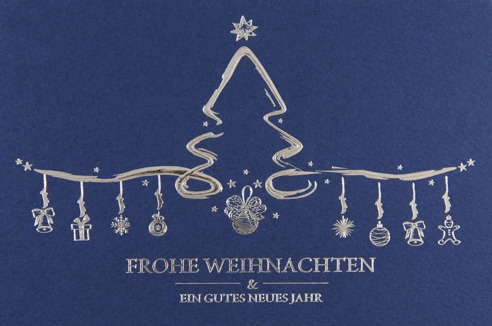 Weihnachtskarte - FW 18106