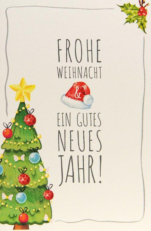 Weihnachtskarte - FW 18026