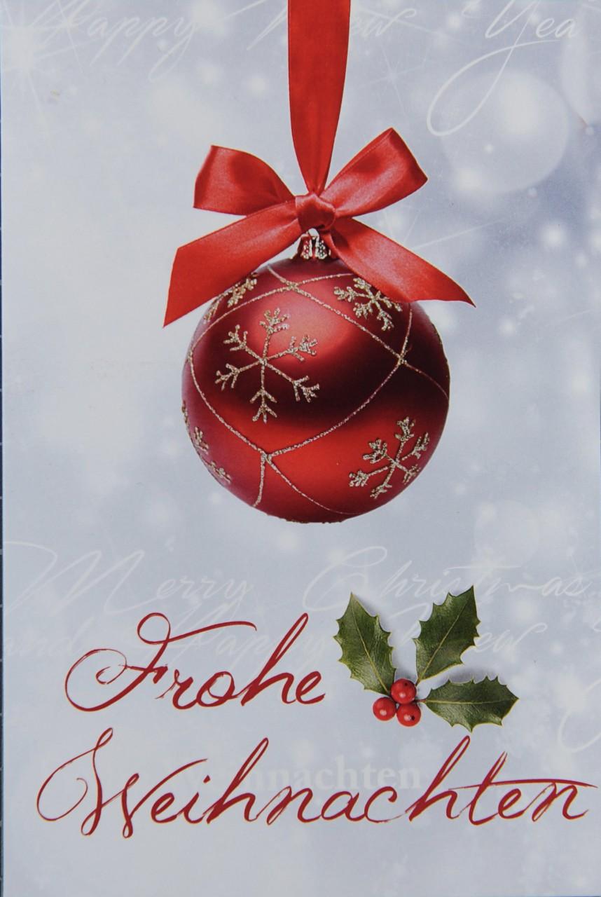 Weihnachtskarte - FW 17985