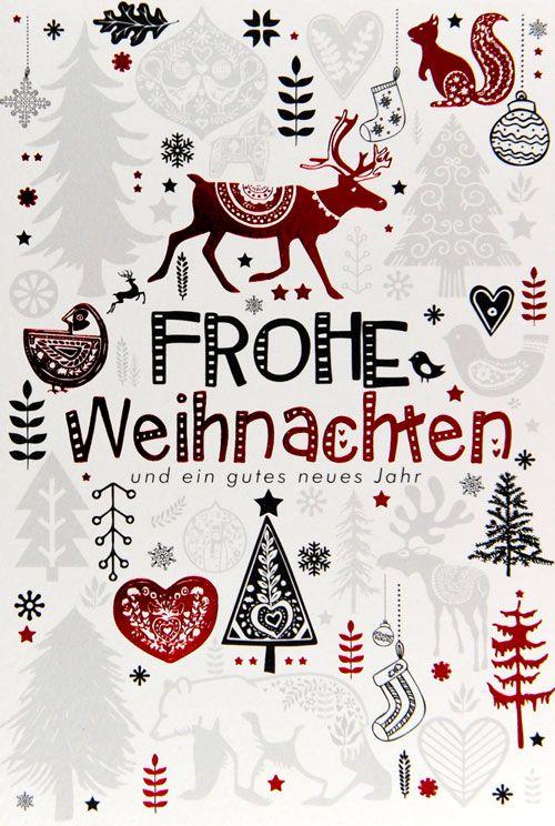 Weihnachtskarte - FW 13801