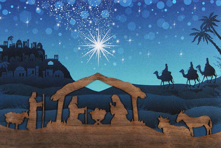 Weihnachtskarte - FW 18053