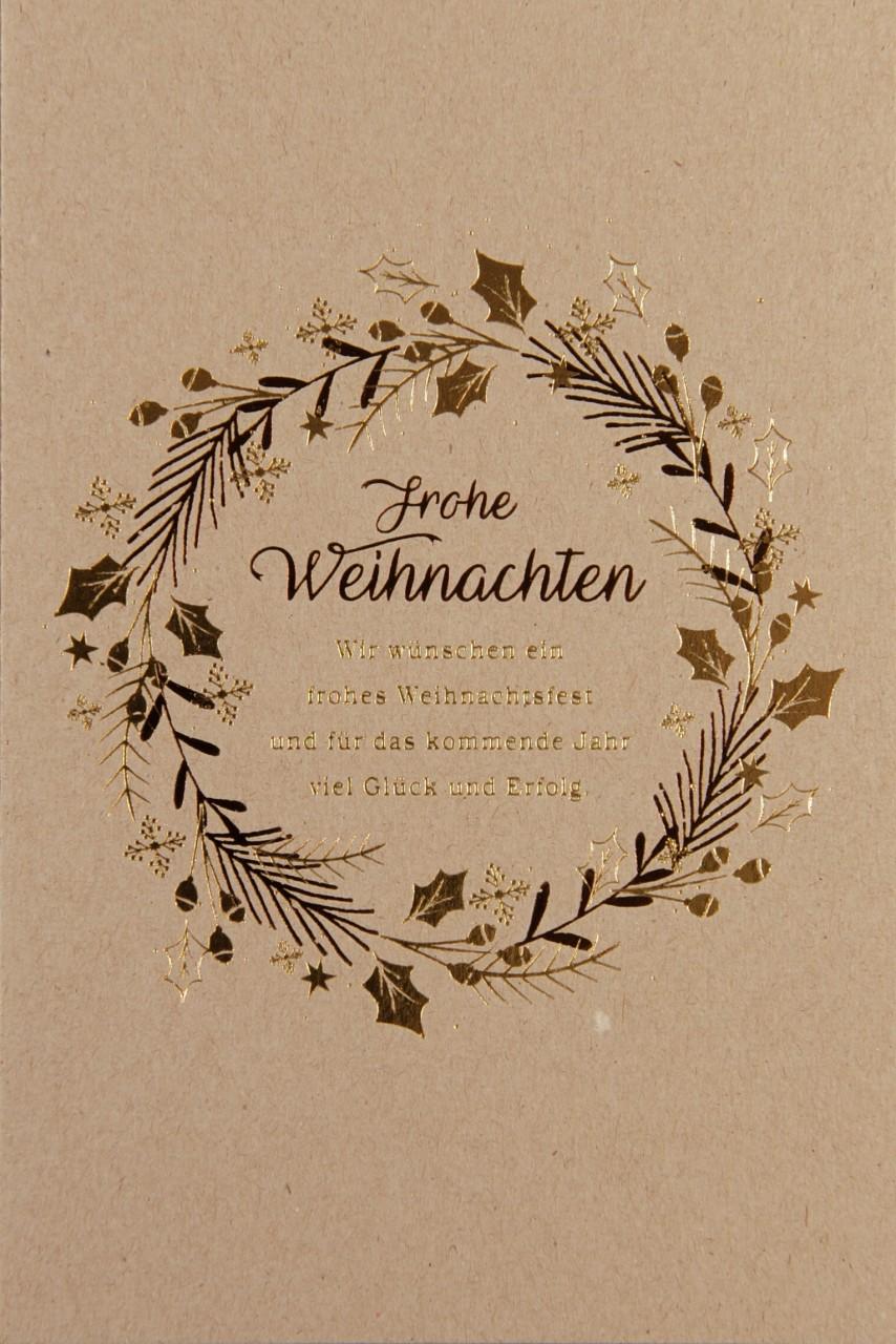 Weihnachtskarte - FW 17959