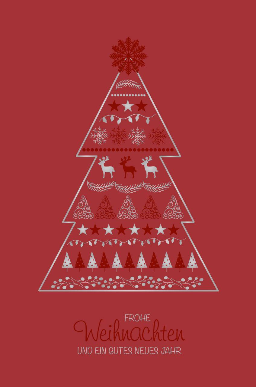 Weihnachtskarte - FW 18141