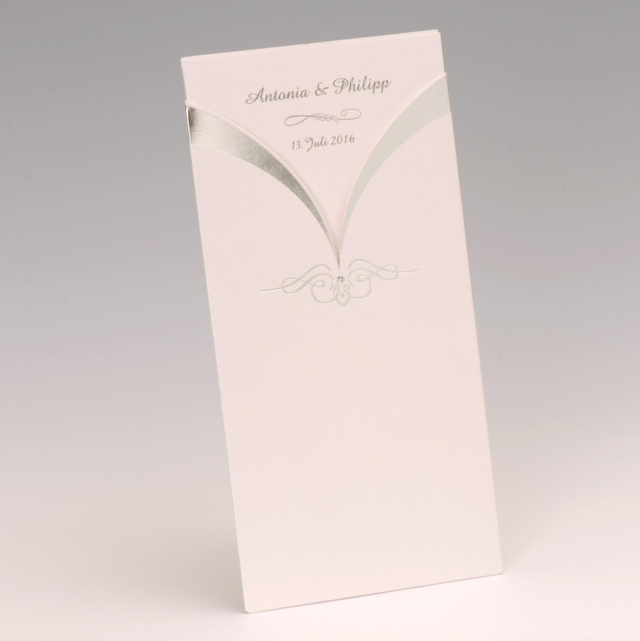 Die Hochzeitskarte Glitzersteinchen bringt mit viel Stilgespür und Freude Ihr Vorhaben beim ersten Anblick zum Ausdruck. Jetzt online bestellen.