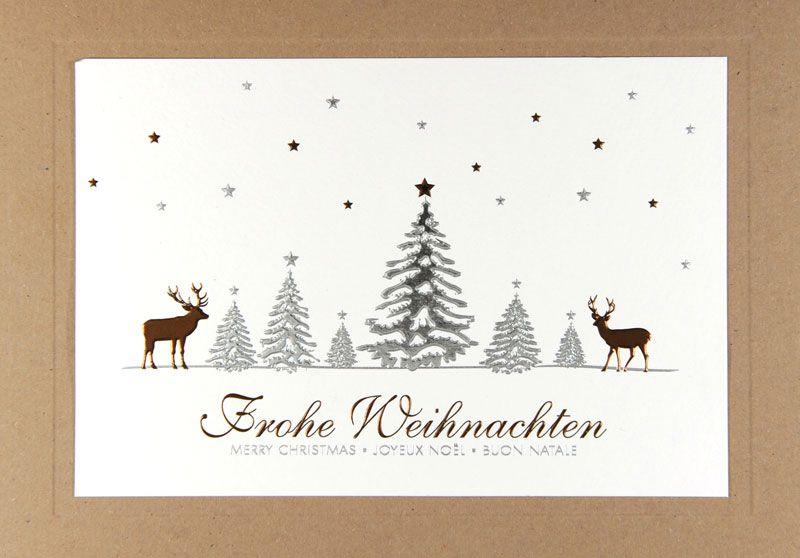 Weihnachtskarte - FW 15962