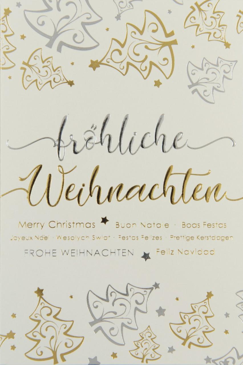 Weihnachtskarte - FW 17969