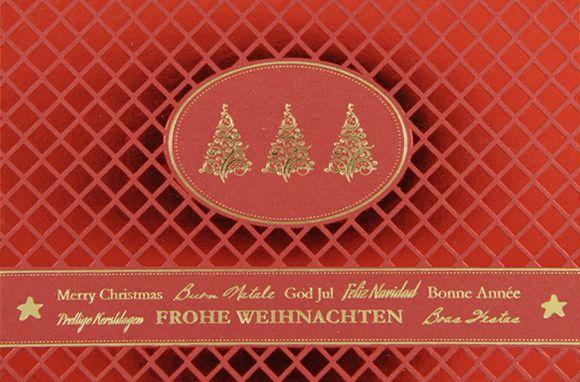 Weihnachtskarte - FW 18174