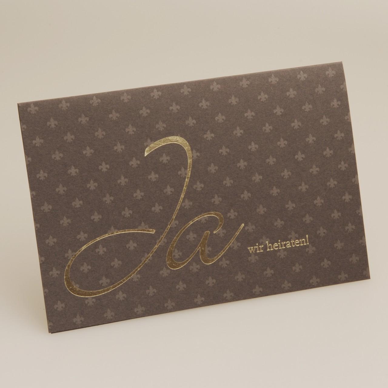 Einladungskarte - H 1806