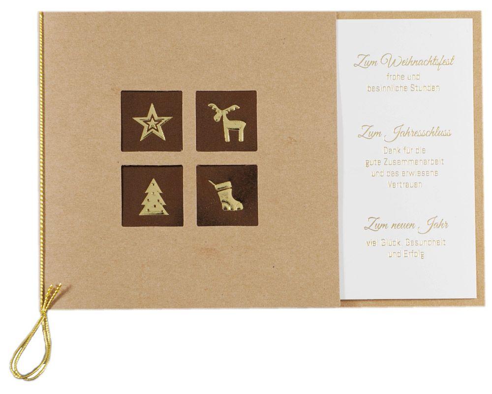 Weihnachtskarte - FW 18088