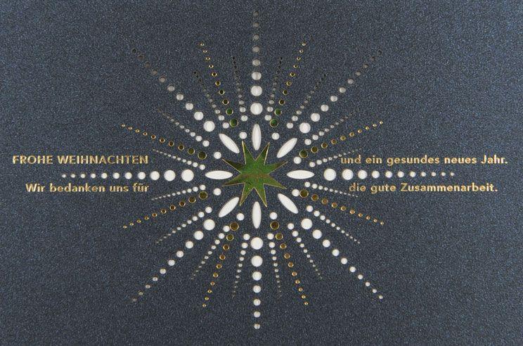 Weihnachtskarte - FW 18006