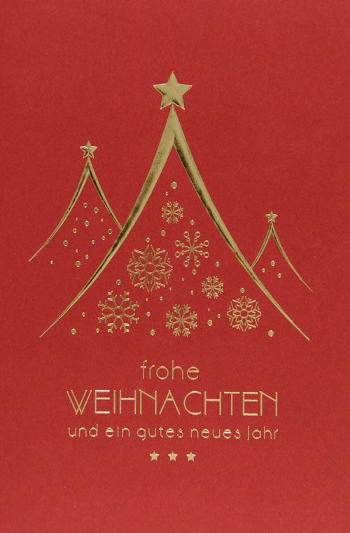 Weihnachtskarte - FW 18038