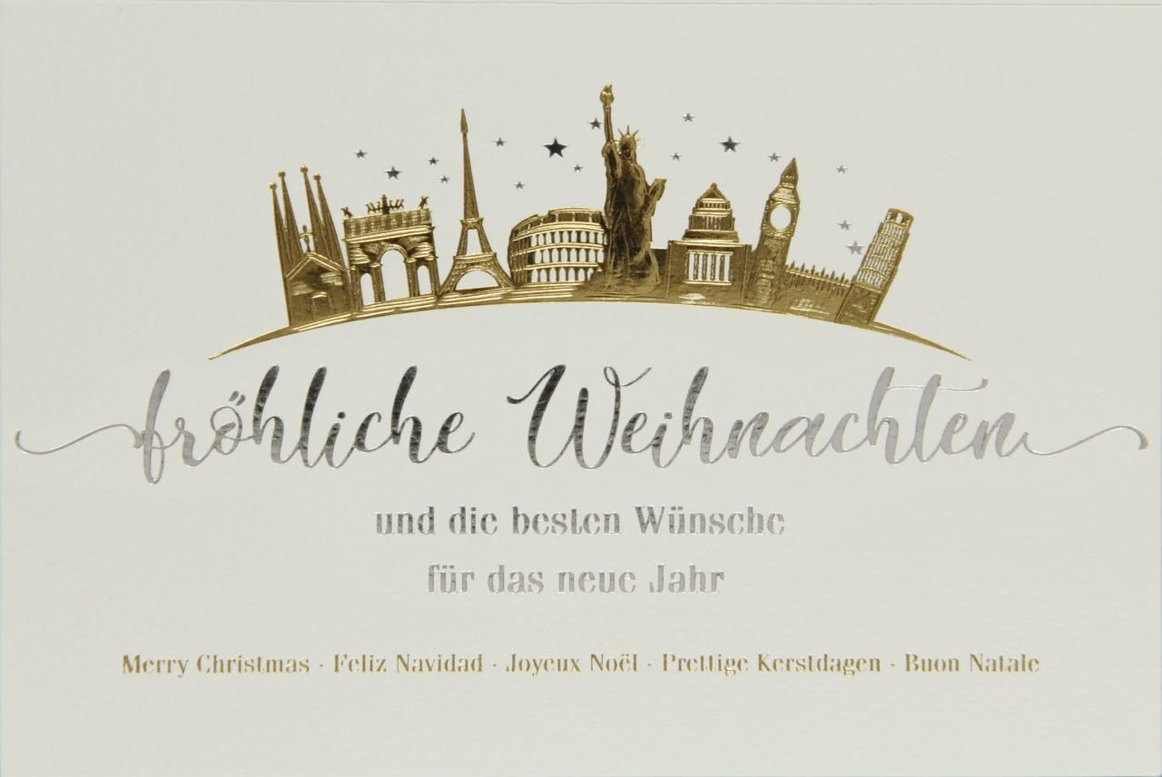 Weihnachtskarte - FW 17978