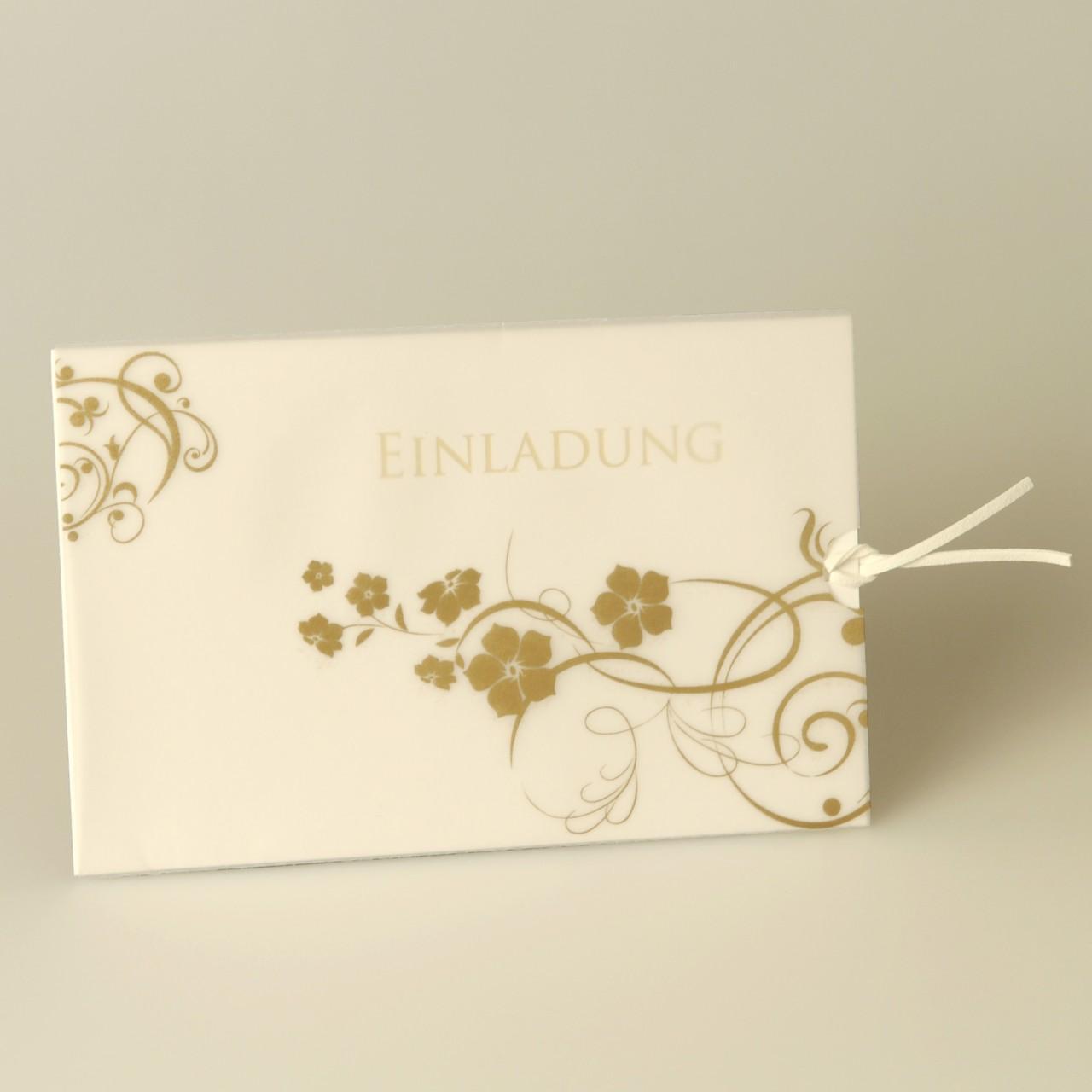 Einladungskarte - A 2000