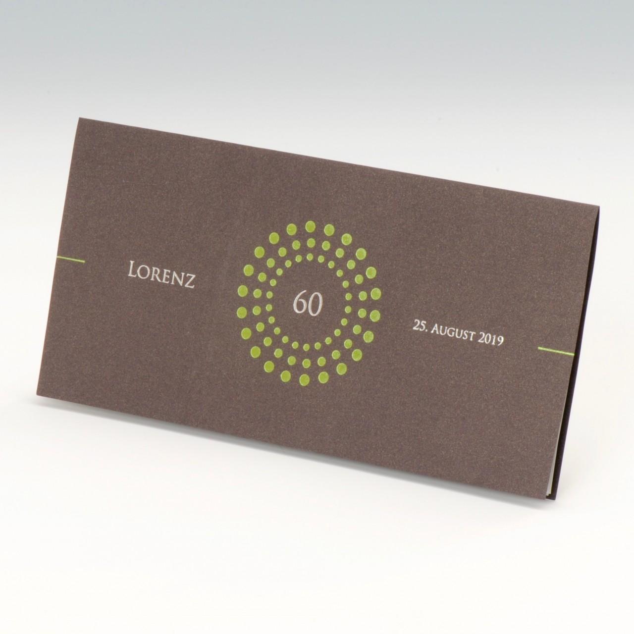Einladungskarte - A 2058/Z