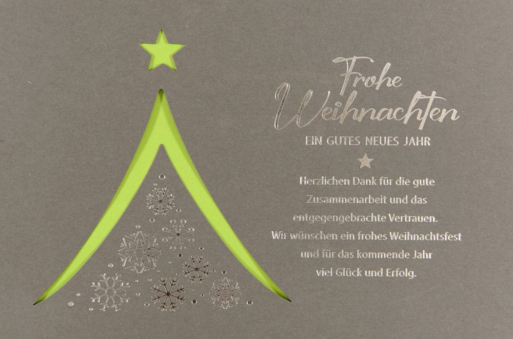 Weihnachtskarte - FW 18086