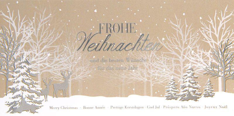 Weihnachtskarte - FW 18005