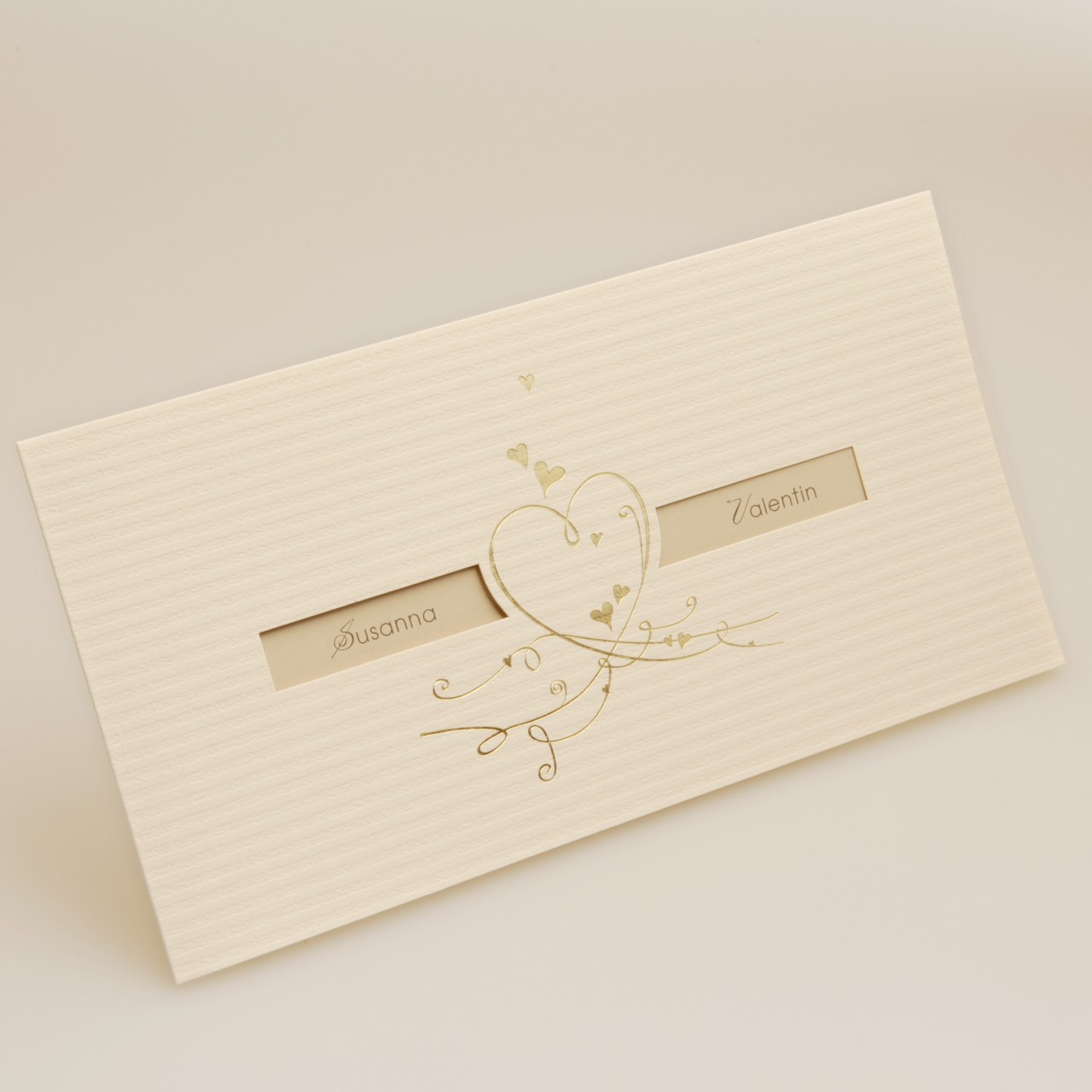 Einladungskarte - H 1860