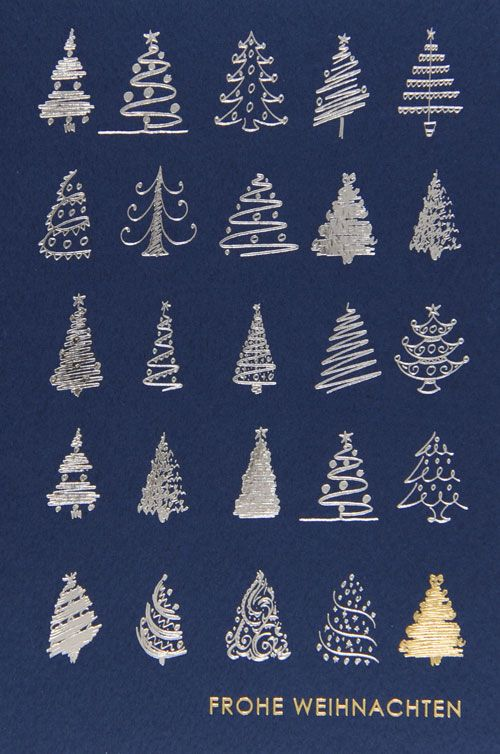 Weihnachtskarte - FW 18011