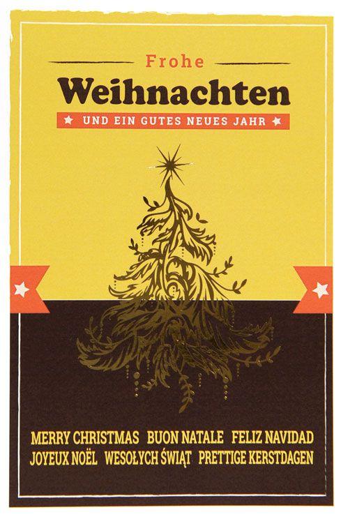 Weihnachtskarte - FW 18051