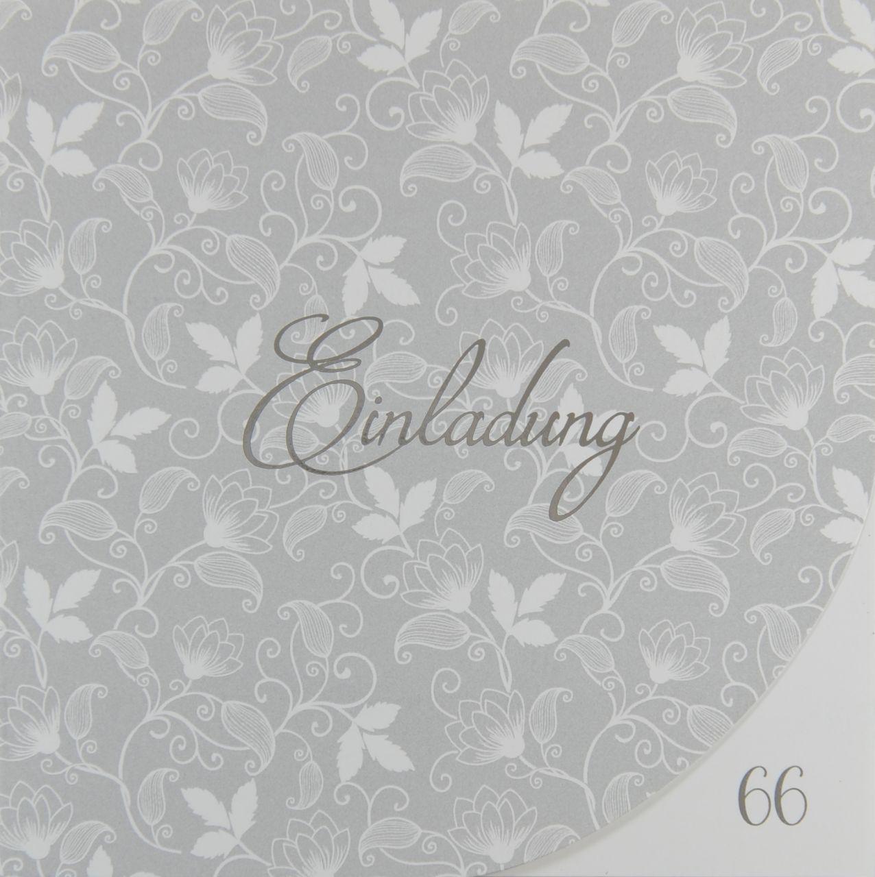 Einladungskarte - A 2138