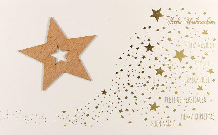 Weihnachtskarte - FW 18022
