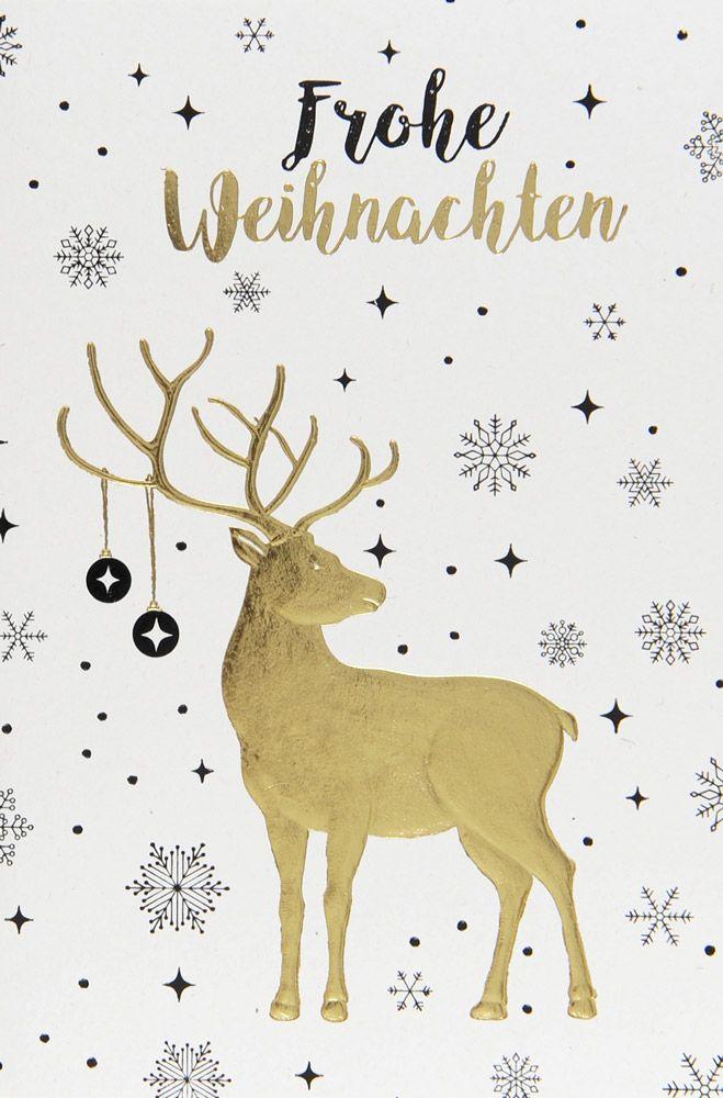 Weihnachtskarte - FW 18103