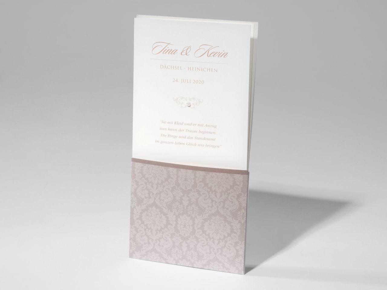 Einladungskarte - F 65.1698
