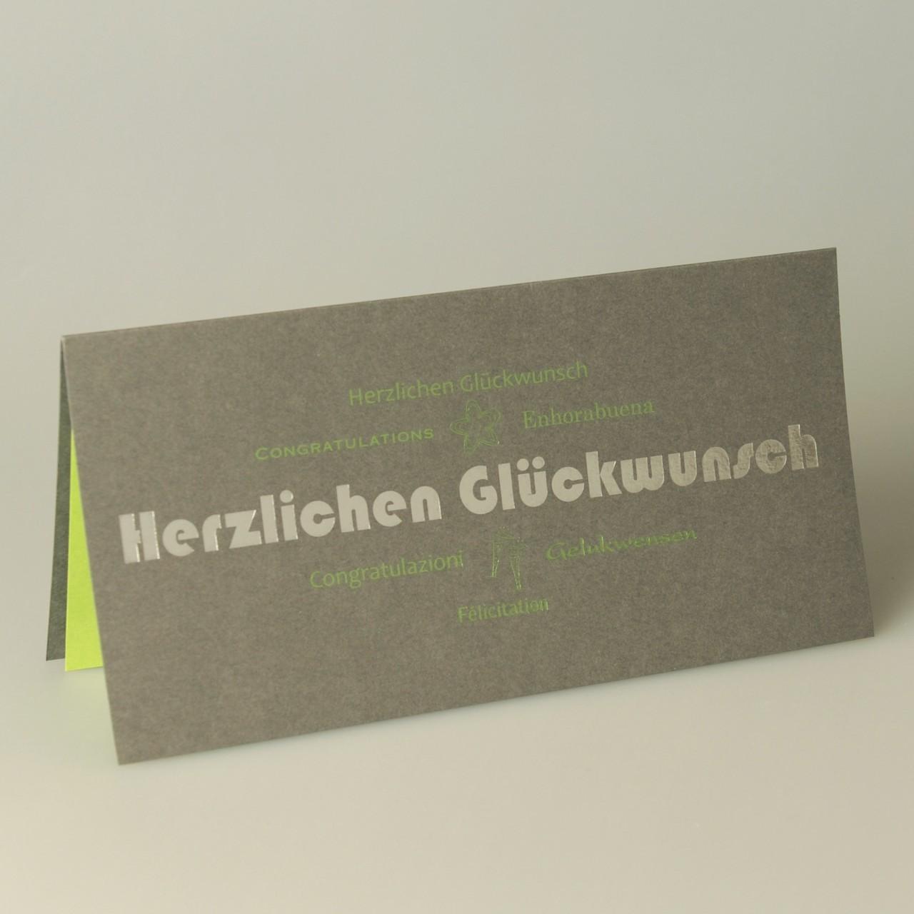 Glückwunschkarte - A 3804