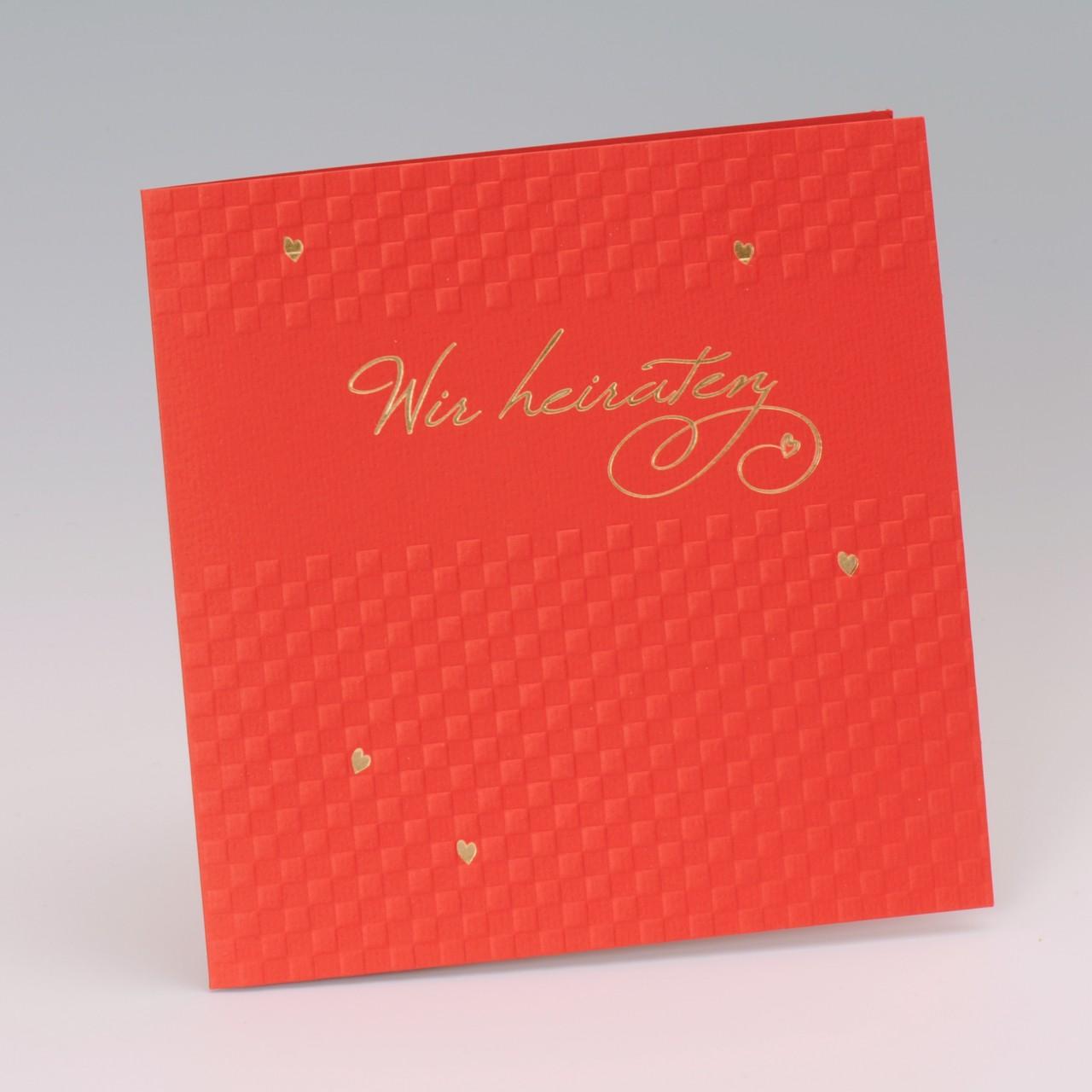 Einladungskarte - H 1998