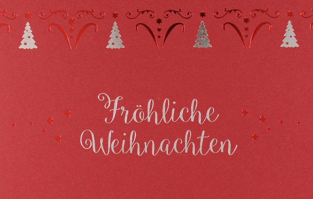 Weihnachtskarte - FW 18068