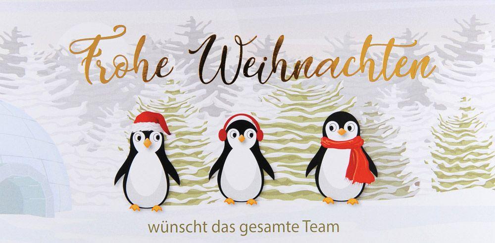 Weihnachtskarte - FW 18112